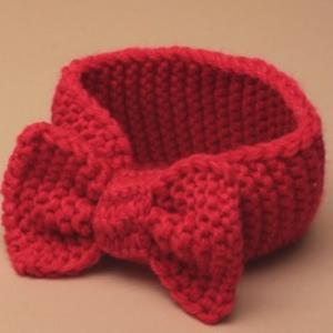 Bandeau en laine pour bebe
