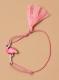 Blacelet flament rose rose pour enfant 1