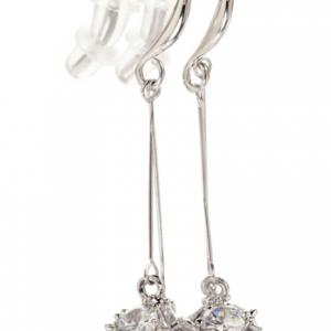Boucles d oreille pendante cube diamant image 2019