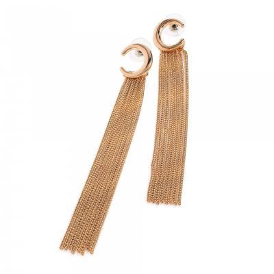 Boucles d'oreilles pendantes à franges