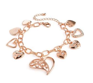 Bracelet de coeurs