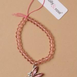 Bracelet de perles fee clochette