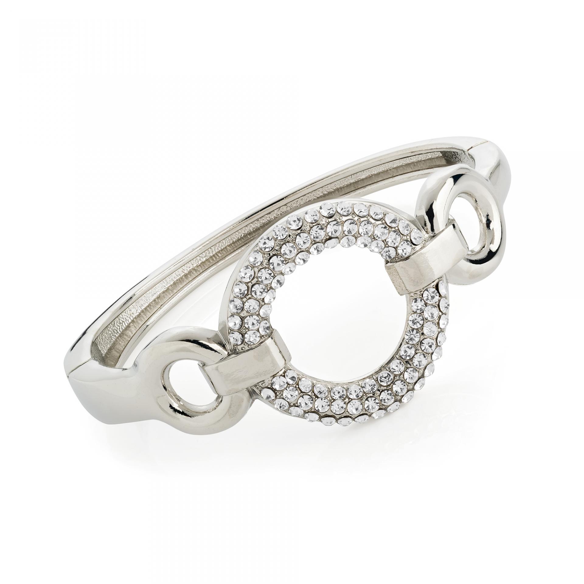 Bracelet fantaisie jonc en argent