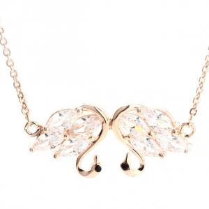 Bracelet or pendentif cygne image 2019