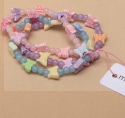 Bracelets papillons pour enfants