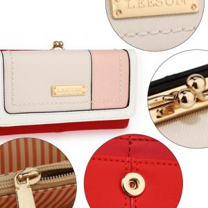 Caracteristique portefeuille femme rouge image 2019