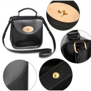 Caracteristique sac bandouliere noir