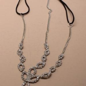 Chaine de cheveux diamant pour mariage