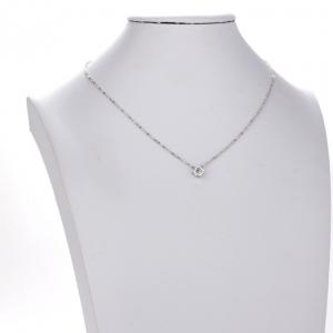 Chaine fantaisie argent femme pendentif cube diamant image 2019