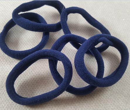 Coffret fille bleu marine les elastiques cheveux