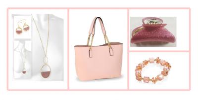 Coffret rose passion - accessoires de mode femme