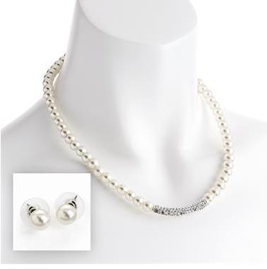 Collier de perle pour ceremonie 1