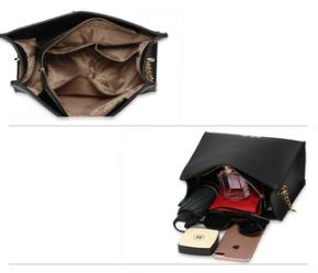 Design sac a main simili cuir noir