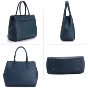 Design sac fourre tout bleu marine