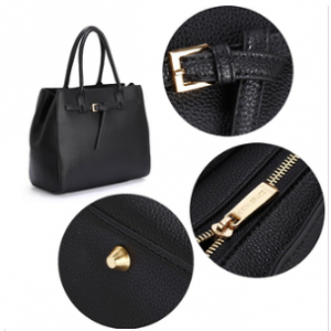 Design sac fourre tout noir