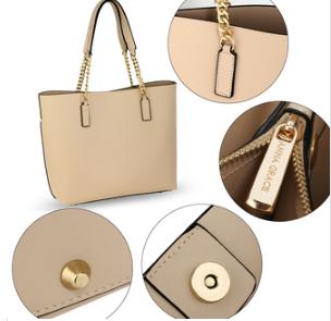 Grand sac à main femme avec fermeture et poche intérieure