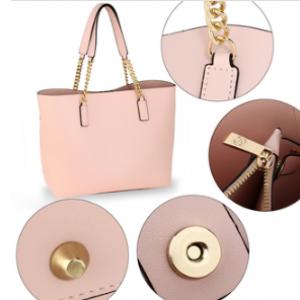 Details sac cabas rose pour femme
