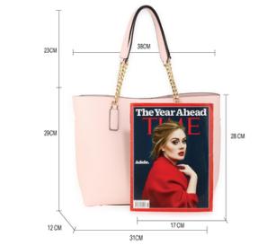 Dimension cabas pour femme rose