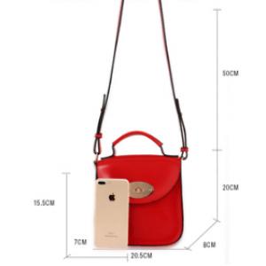Dimension du sac en bandouliere tendance femme rouge image 2019