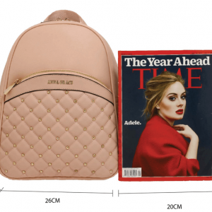 Dimensions sac a dos rose poudre femme image 2019