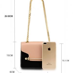 Dimensions sac a main chaine nude et noir image 2019