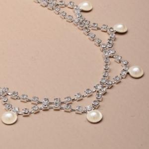 Headband perle et strass