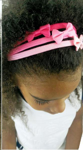 Idee coiffure avec bandeaux fille