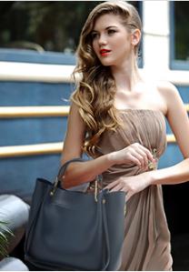 Idee tenue avec sac cabas bleu