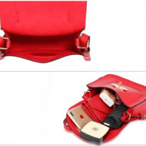 Interieur sac bandouliere tendance femme rouge image 2019