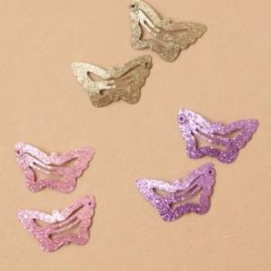 Pince a cheveux enfant fille en forme de papillon