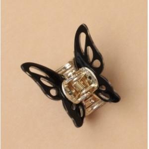 Pince papillon noir enfant