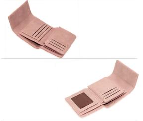 Porte feuille rose