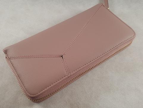 Portefeuille rose pour femme