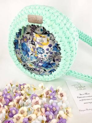 Sac à main Teyssa Beauté - Fleuries en Transparence