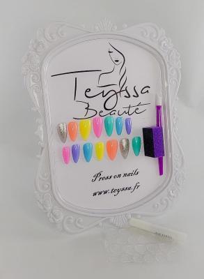 Kit de press on nails  - faux ongles femme
