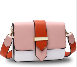 Sac a bandouliere rose et orange