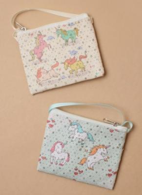 sac bandoulière licorne étoilée enfant fille
