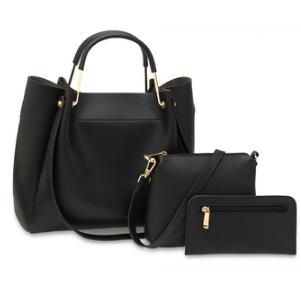 Set de sac a main femme noir